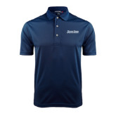 Navy Dry Mesh Polo-Blue Jays Wordmark