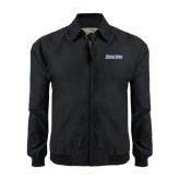Black Players Jacket-Blue Jays Wordmark