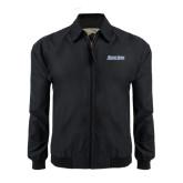 Black Players Jacket-Blue Jays Wordmark