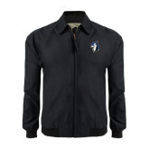 Black Players Jacket-Blue Jays Mascot