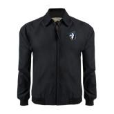 Black Players Jacket-Blue Jays Mascot