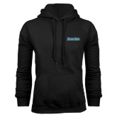 Black Fleece Hoodie-Blue Jays Wordmark