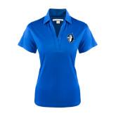 Ladies Royal Performance Fine Jacquard Polo-Blue Jays Mascot