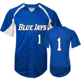 Replica Royal Adult Baseball Jersey-#1