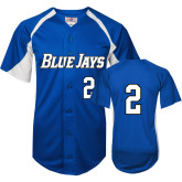 Replica Royal Adult Baseball Jersey-#2
