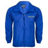 Royal Wind Jacket-Blue Jays Wordmark