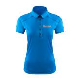 Ladies Ogio Sapphire Blue Pleated Back Polo-Blue Jays Wordmark