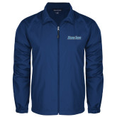 Full Zip Royal Wind Jacket-Blue Jays Wordmark