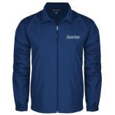 Full Zip Royal Wind Jacket-Blue Jays Wordmark