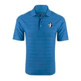 Sapphire Horizontal Textured Polo-Blue Jays Mascot