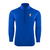 Sport Wick Stretch Royal 1/2 Zip Pullover-Blue Jays Mascot