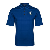 Royal Performance Fine Jacquard Polo-Blue Jays Mascot