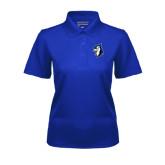 Ladies Royal Dry Mesh Polo-Blue Jays Mascot