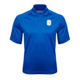 Royal Textured Saddle Shoulder Polo-Official Logo