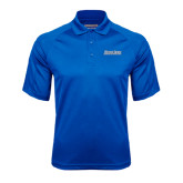 Royal Textured Saddle Shoulder Polo-Blue Jays Wordmark