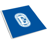 College Spiral Notebook w/Clear Coil-Official Logo