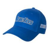 Royal Heavyweight Twill Pro Style Hat-Blue Jays Wordmark