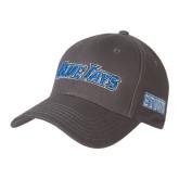 Charcoal Heavyweight Twill Pro Style Hat-Blue Jays Wordmark