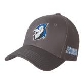 Charcoal Heavyweight Twill Pro Style Hat-Blue Jays Mascot