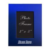 Royal Brushed Aluminum 3 x 5 Photo Frame-Blue Jays Wordmark Engraved
