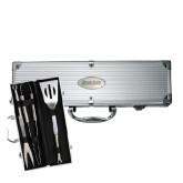 Grill Master 3pc BBQ Set-Blue Jays Wordmark Engraved