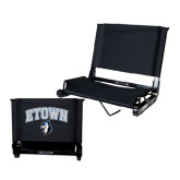 Stadium Chair Black-ETOWN with Mascot