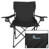 Deluxe Black Captains Chair-Blue Jays