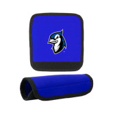 Neoprene Royal Luggage Gripper-Blue Jays Mascot