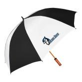 62 Inch Black/White Umbrella-Blue Jays