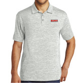 Silver Electric Heather Polo-Primary Mark
