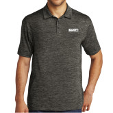 Charcoal Electric Heather Polo-Primary Mark