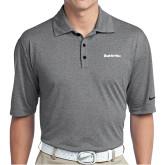 Nike Golf Dri Fit Charcoal Heather Polo-Tag Line