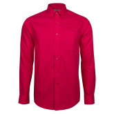 Red House Red Long Sleeve Shirt-Tag Line