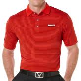 Callaway Core Stripe Red/Black Polo-Primary Mark
