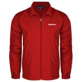Full Zip Red Wind Jacket-Tag Line