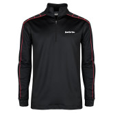 Nike Golf Dri Fit 1/2 Zip Black/Red Pullover-Tag Line