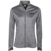 Ladies Callaway Stretch Performance Heather Grey Jacket-Tag Line