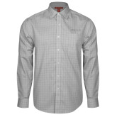 Red House Grey Plaid Long Sleeve Shirt-Tag Line