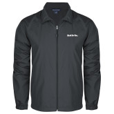 Full Zip Charcoal Wind Jacket-Tag Line