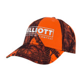 Mossy Oak Orange Blaze Structured Hat-Primary Mark
