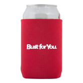 Neoprene Red Can Holder-Tag Line