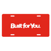 License Plate-Tag Line