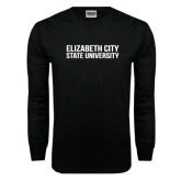 Black Long Sleeve TShirt-Tagline