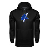 Under Armour Black Performance Sweats Team Hoodie-Viking Head