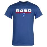 Royal T Shirt-ECSU Band Stencil