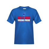 Youth Royal T Shirt-Viking Pride