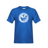 Youth Royal T Shirt-Football Classic