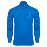 Syntrel Royal Blue Interlock 1/4 Zip-Viking Head