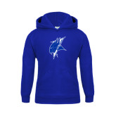 Youth Royal Fleece Hoodie-Viking Head