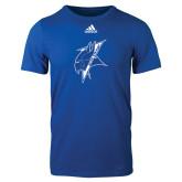 Adidas Royal Logo T Shirt-Viking Head